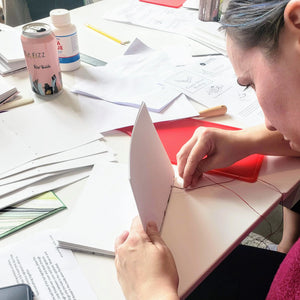 make your own book binding class