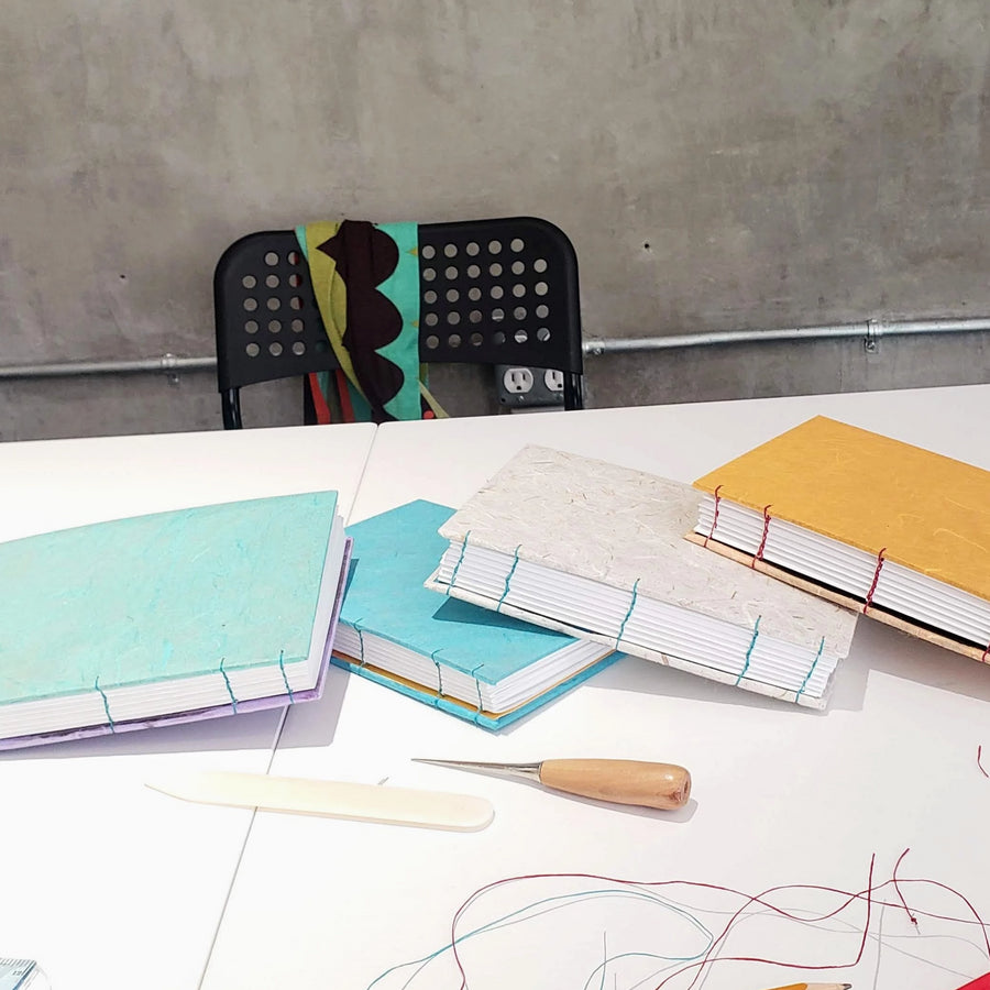 handmade bookmaking workshop portland
