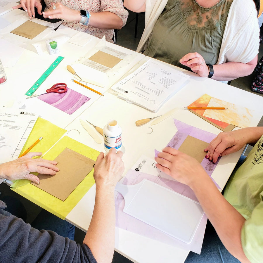 bookmaking papercraft workshop portland
