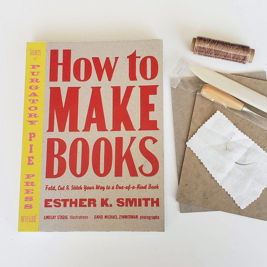 how to make books kit