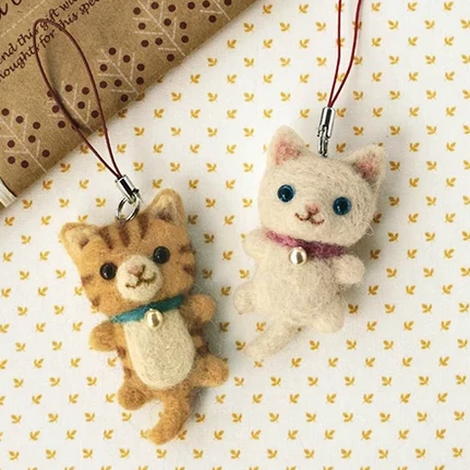 Needle felting class small animals