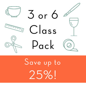 Discounted Class Pack