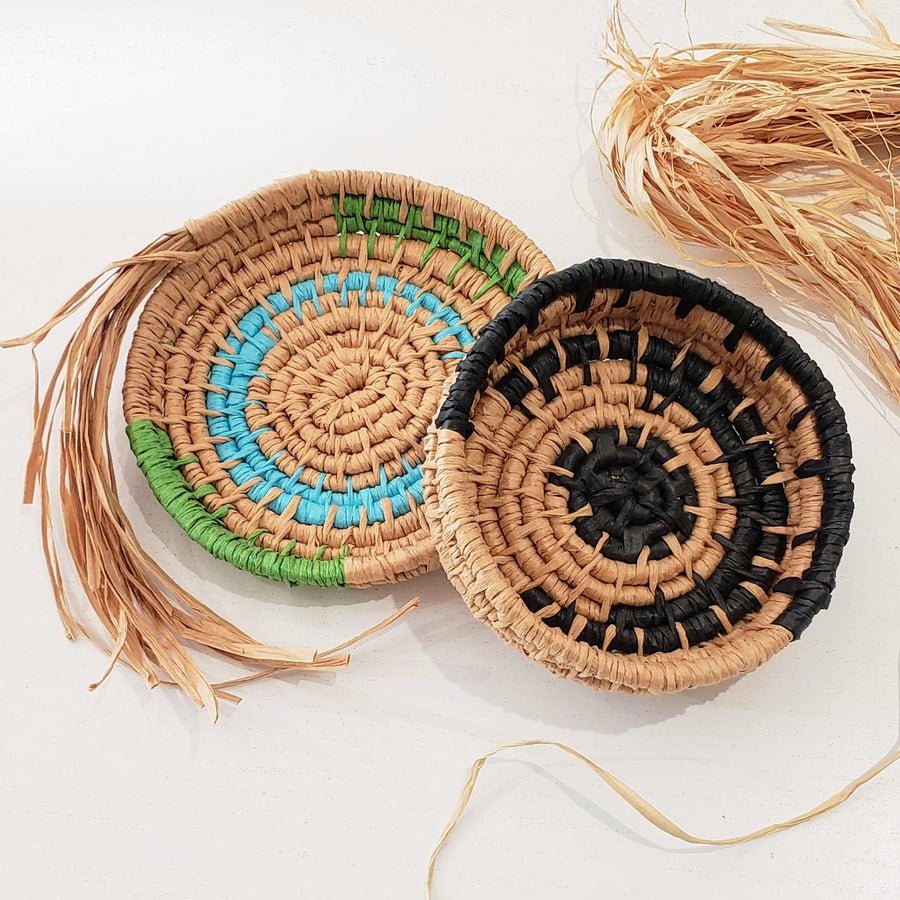 Coiled Raffia Basket Making Class