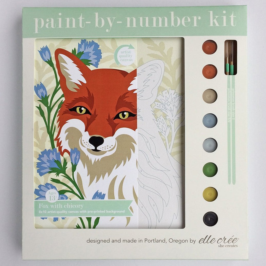 elle cree paint by number kit portland