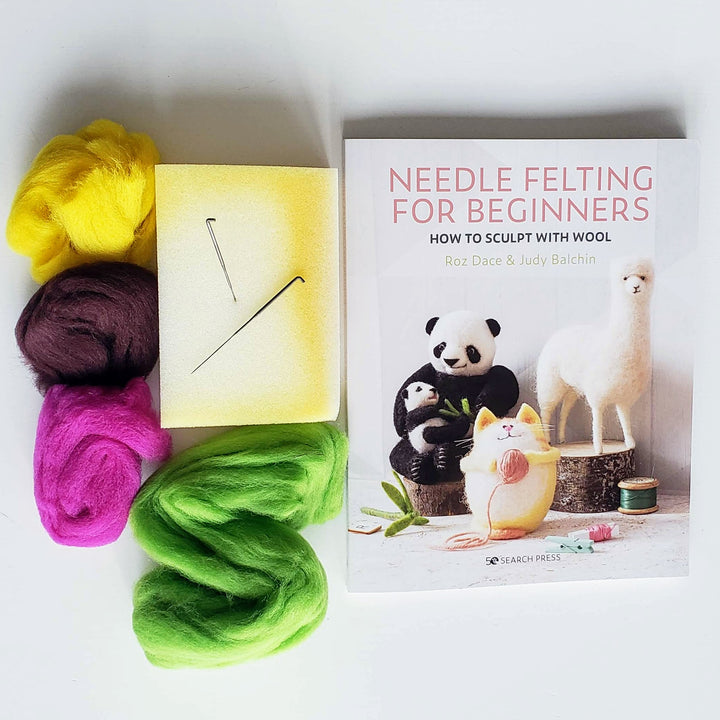needle felting supply kit for beginners
