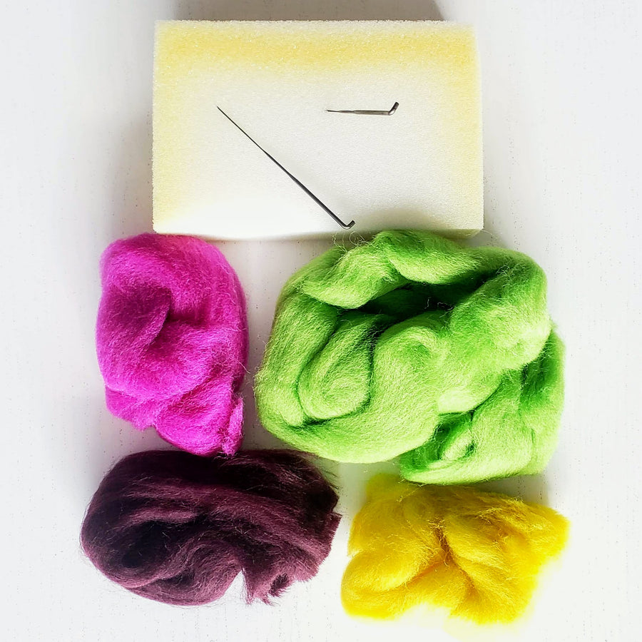 needle felting wool supply kit