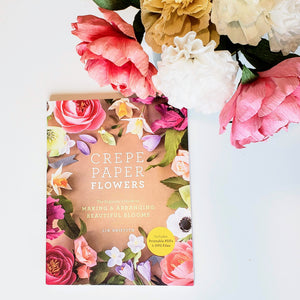 crepe paper flowers book lia griffith