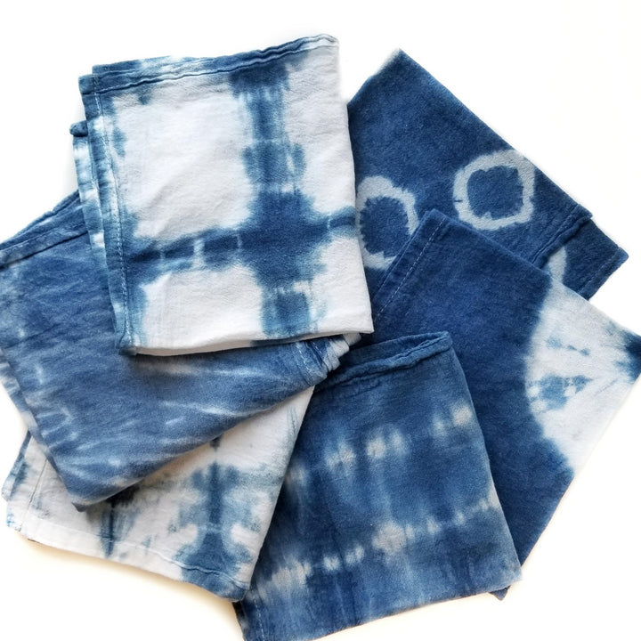 shibori tie dye indigo fabric workshop portland