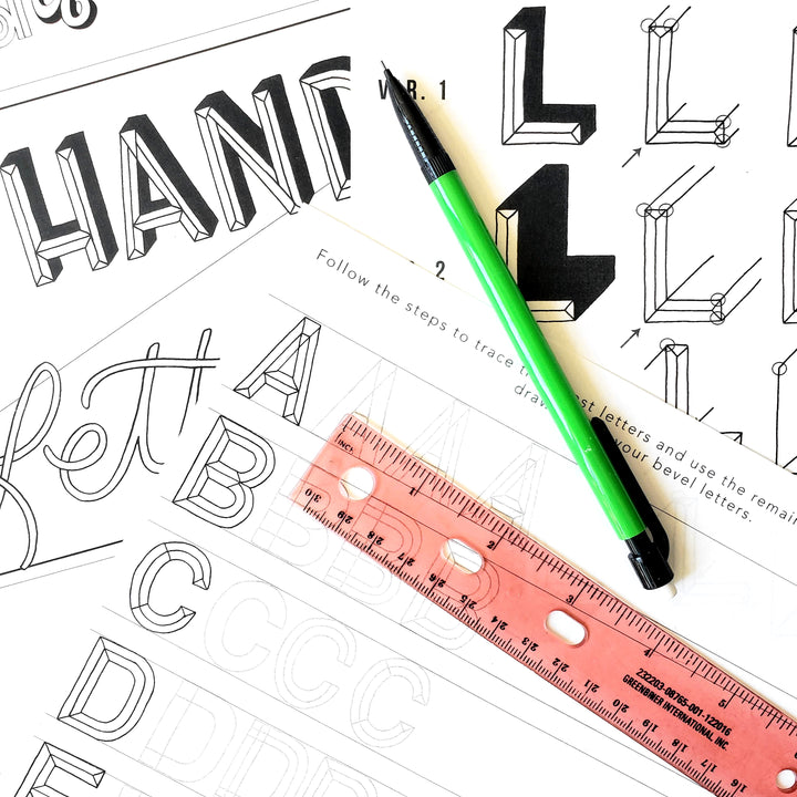 hand lettering online class
