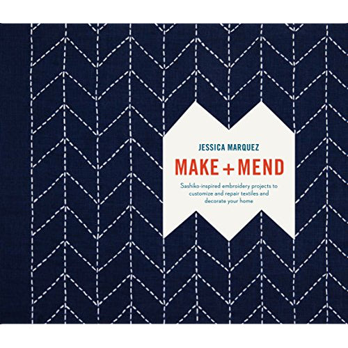 sashiko book make and mend