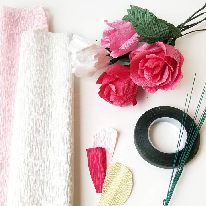 paper flowers supply kit