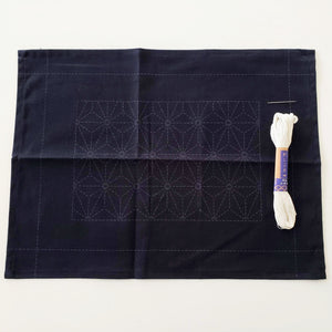 sashiko embroidery fabric placement kit