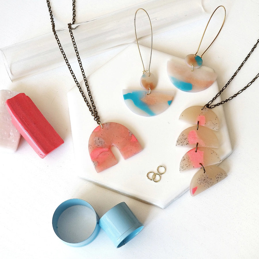 polymer clay jewelry workshop portland
