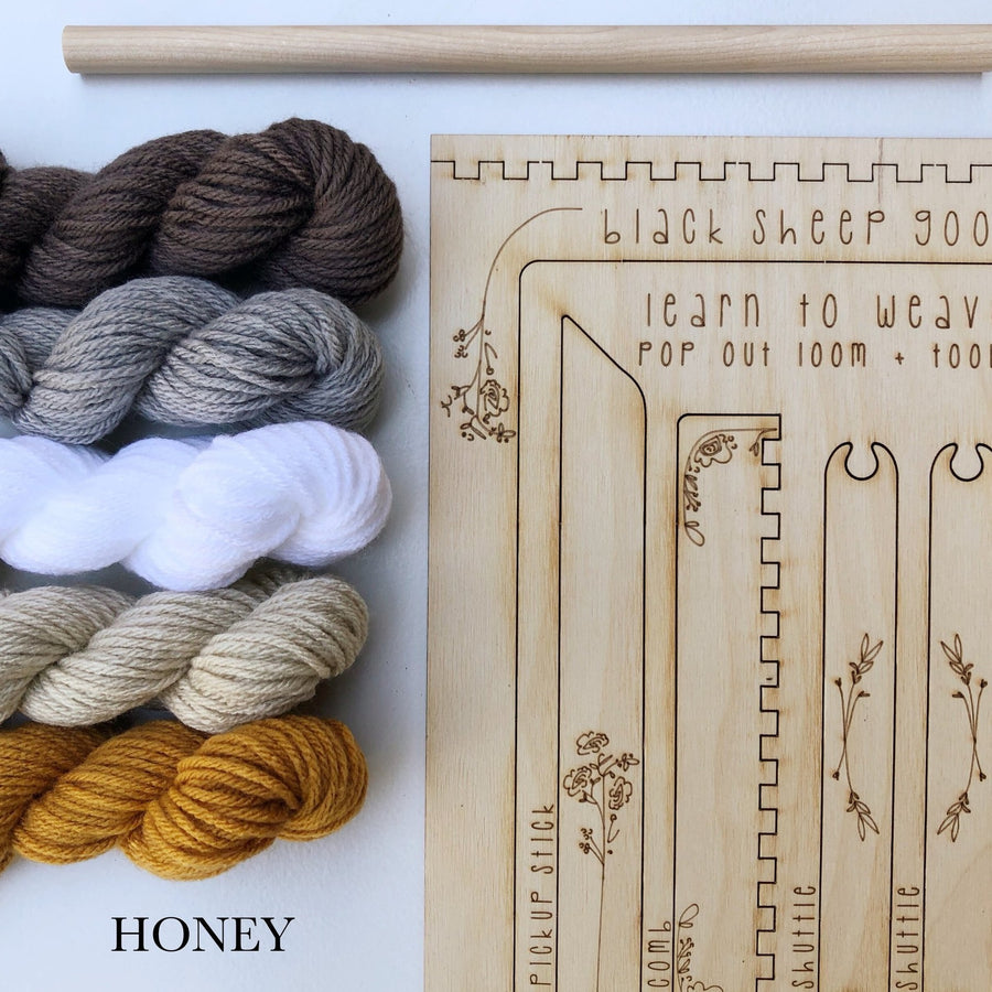 honey tans weaving loom kit