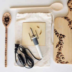 wood burning tool kit pyrography
