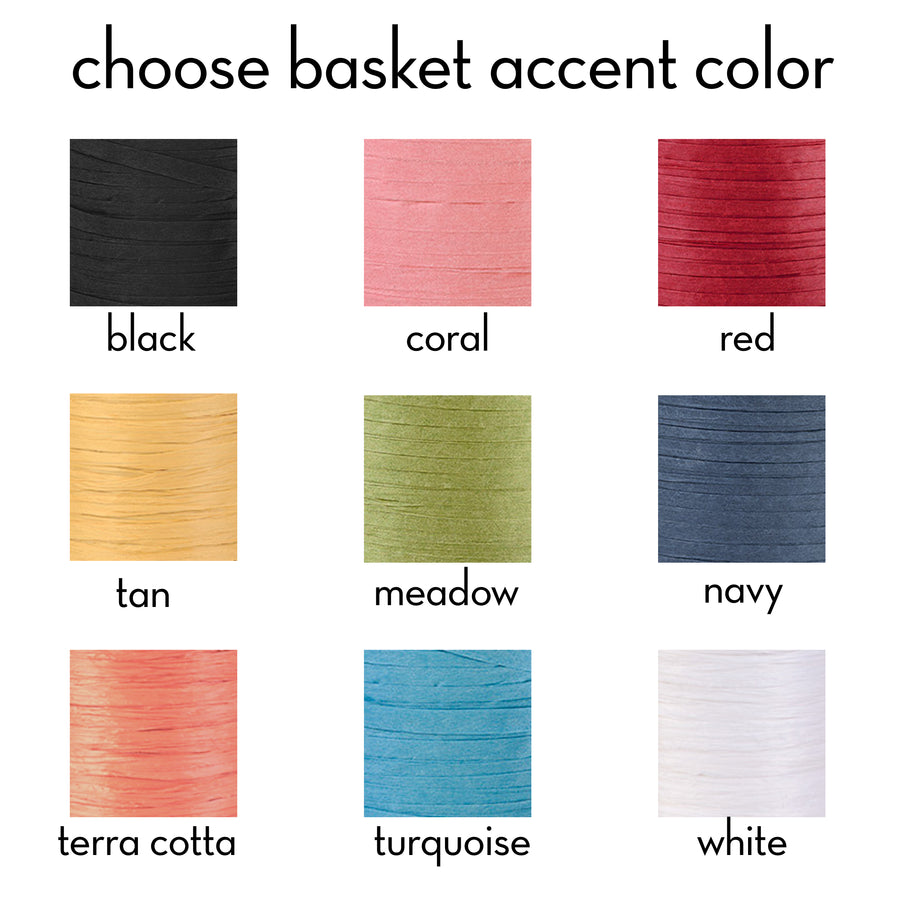 paper raffia colors for supply kit