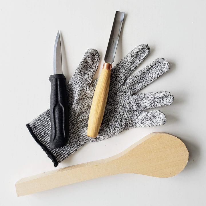 wood spoon carving tool kit