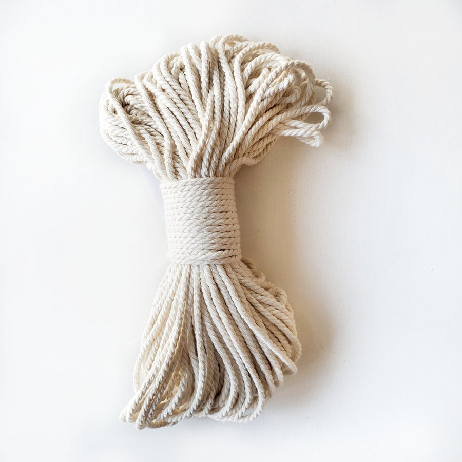 macrame twisted rope for wall hangings