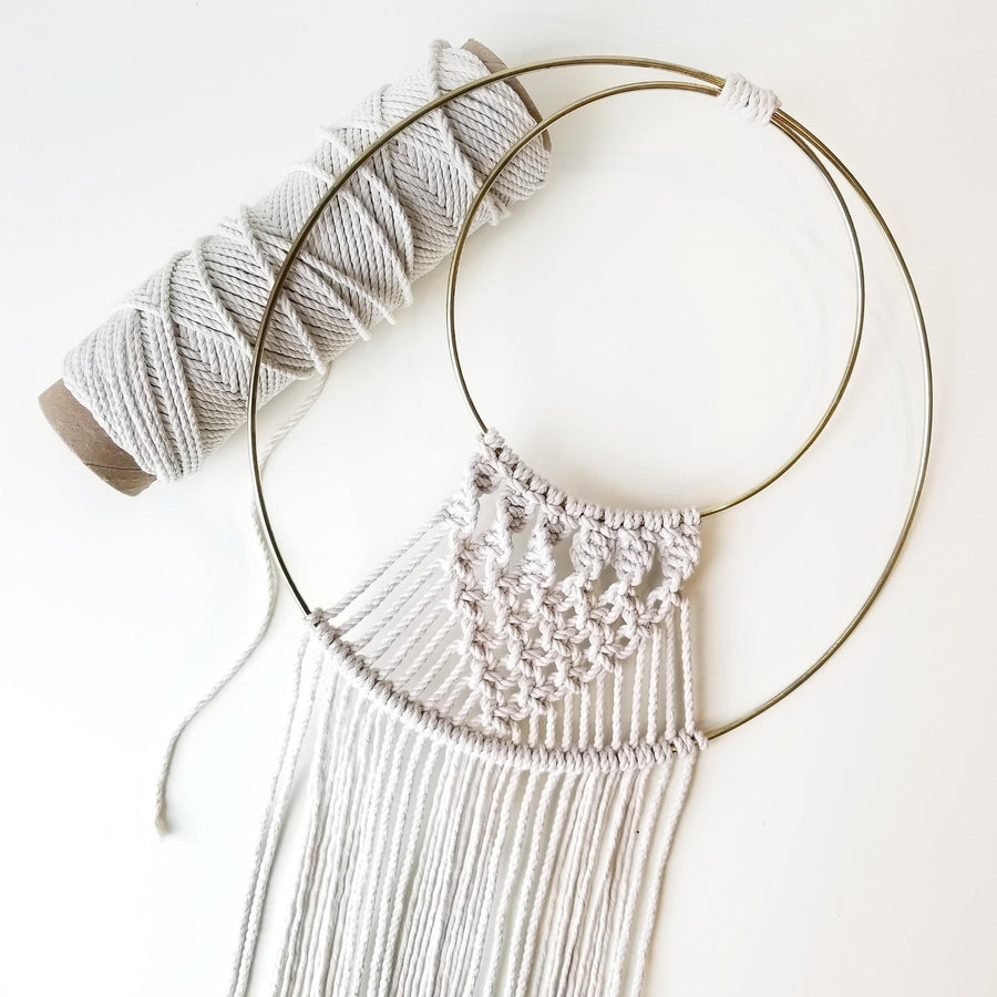 modern macrame rope supply
