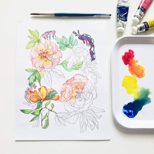 Beginner's Watercolor Workshop