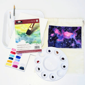 watercolor galaxy kit
