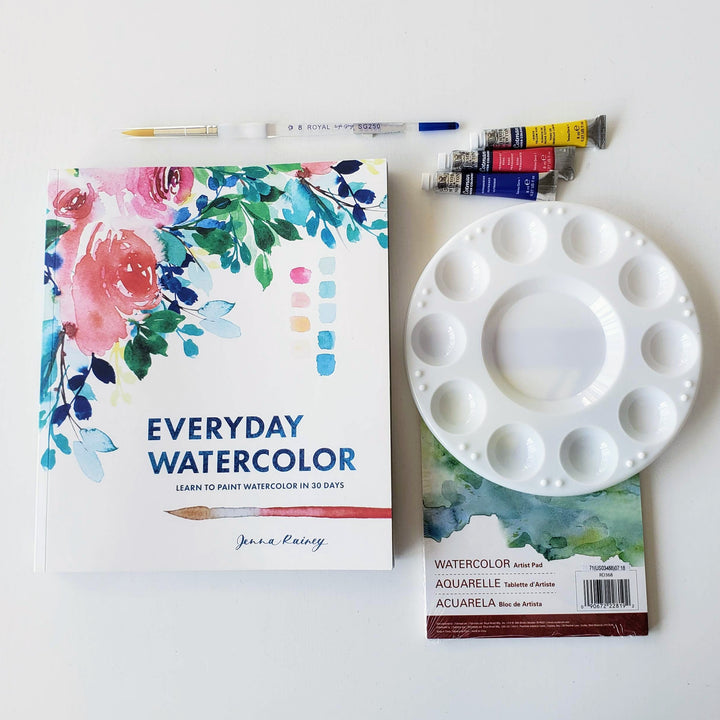 """Everyday Watercolor"" Book"