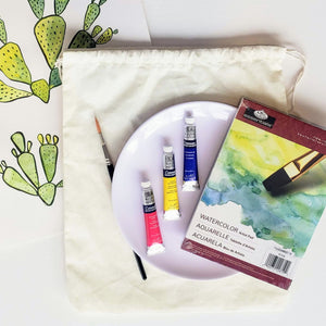 watercolor supply kit
