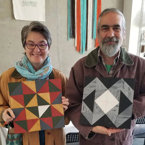 woodworking quilt pattern art class