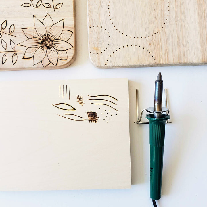 wood burning pyrography class online