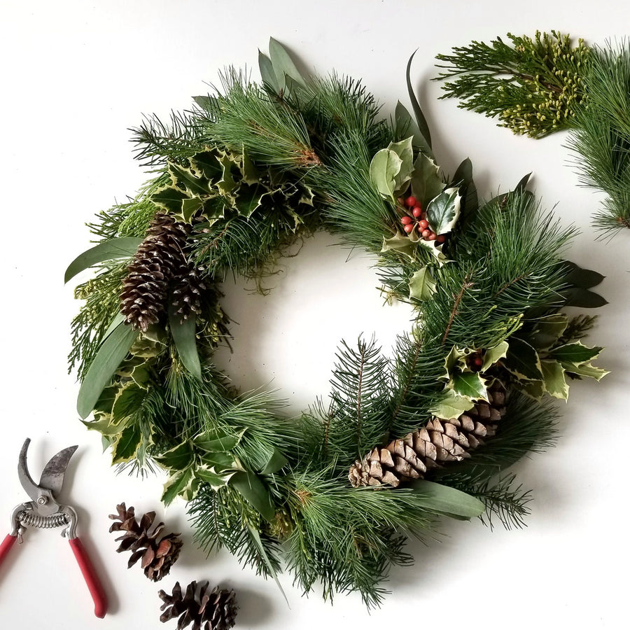 holiday wreath class portland