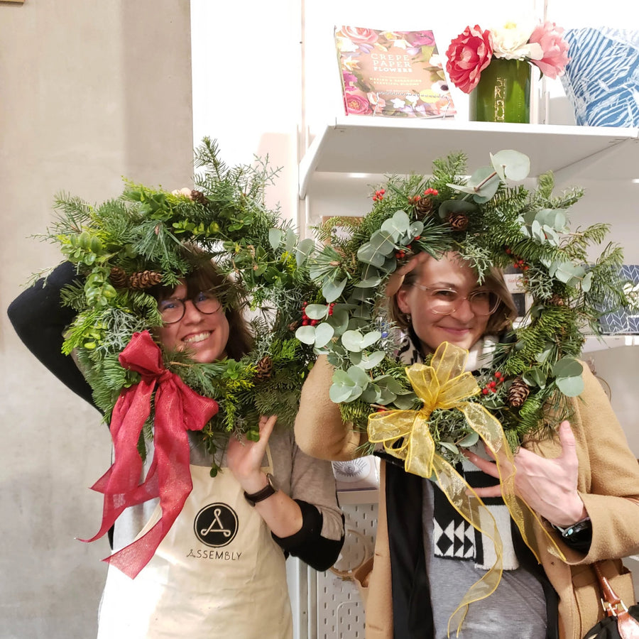 Winter Green Wreath Making Workshop