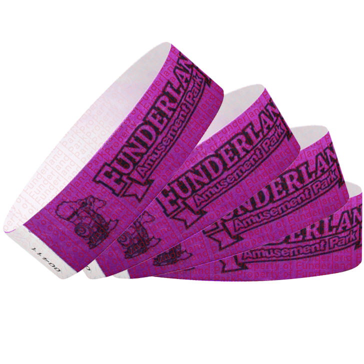 4- Pack of WEEKDAY Unlimited Ride Wristbands