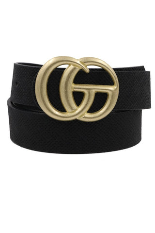 TEXTURED HARDWARE BELT