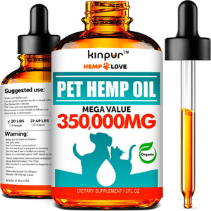 Kinpur Natural Hemp Oil for Dogs & Cats