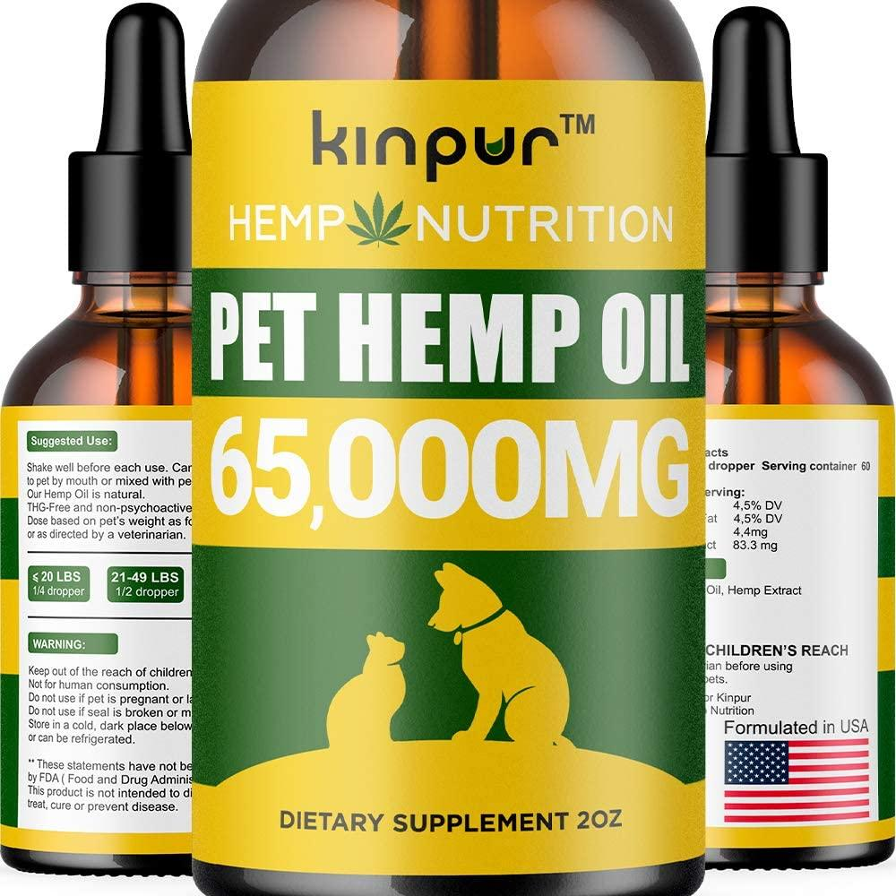 Kinpur Hemp Oil for Dogs & Cats – 65000