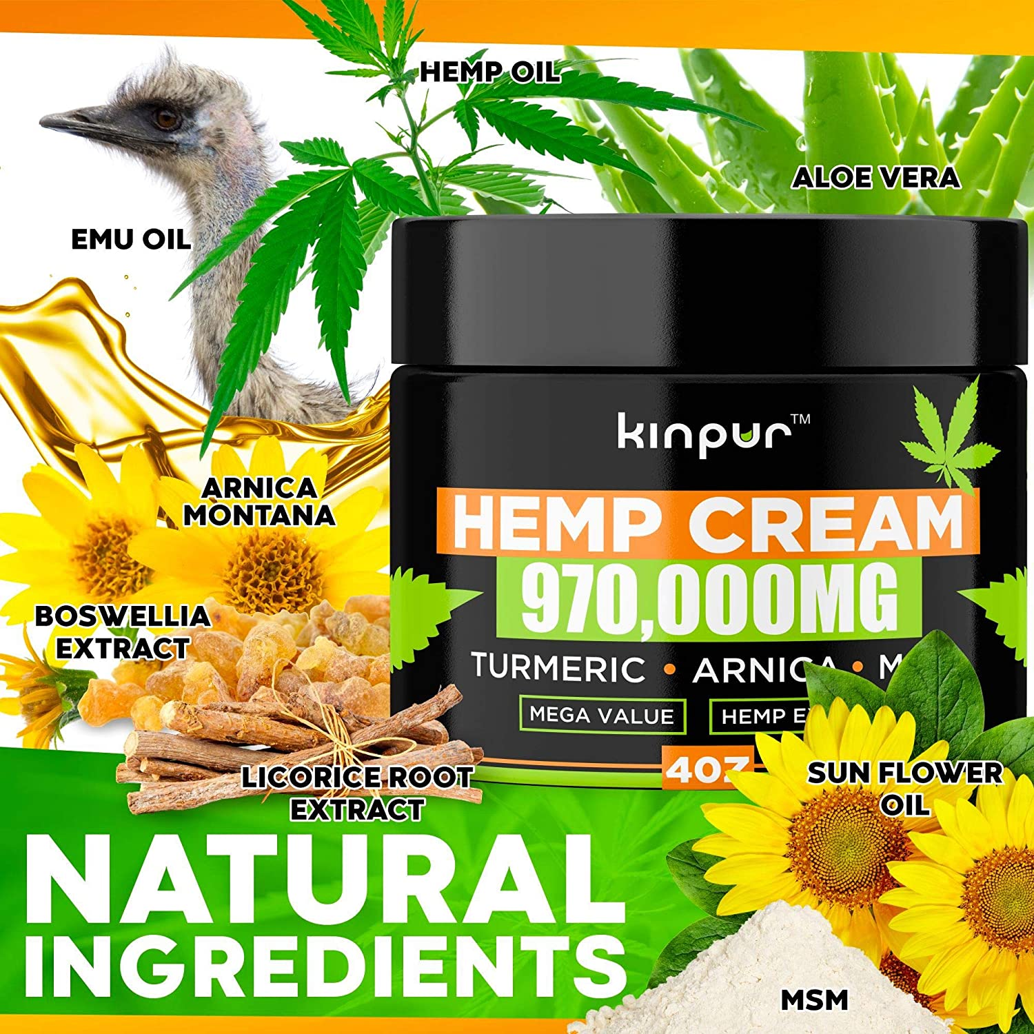 Kinpur Hemp Cream