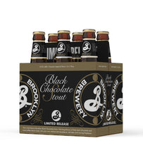 Image of Brooklyn Black Chocolate Stout 355ml Bottle 6-Pack