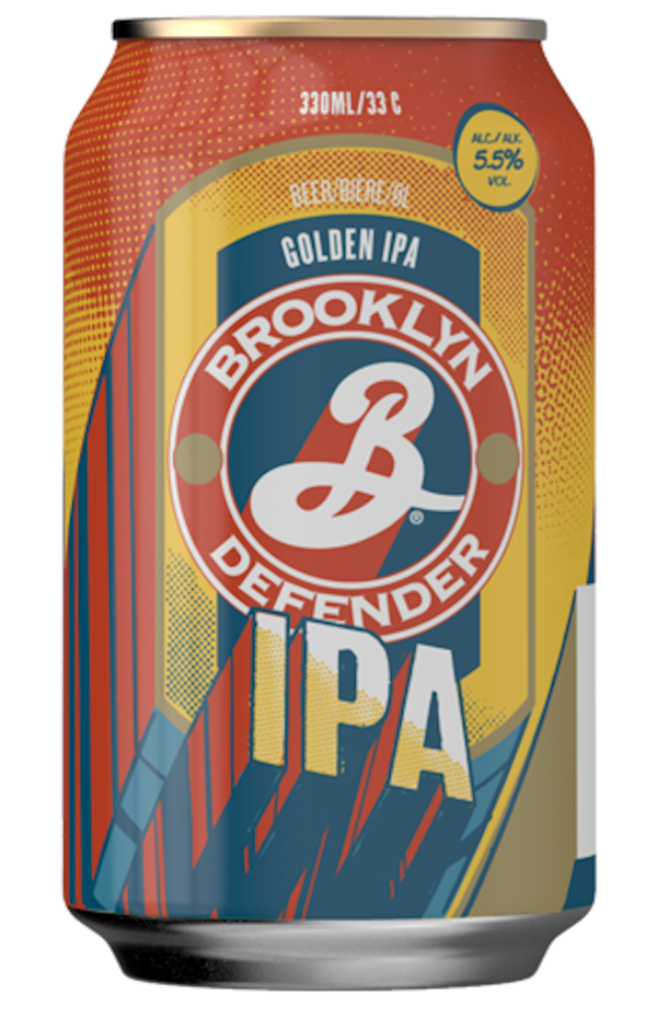 Brooklyn Defender IPA 330ml Can