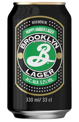 Brooklyn Lager Amber Lager 330ml Can