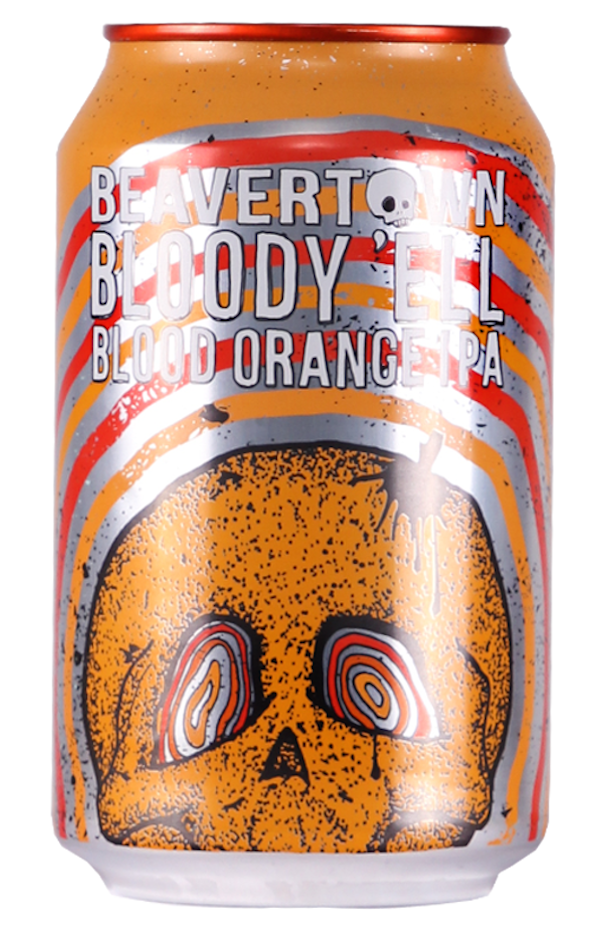Beavertown Bloody Ell Blood Orange IPA can
