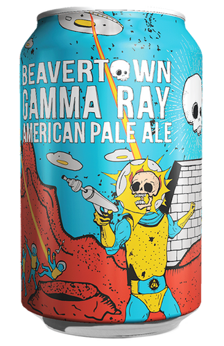Beavertown Gamma Ray American Pale Ale 330ml Can
