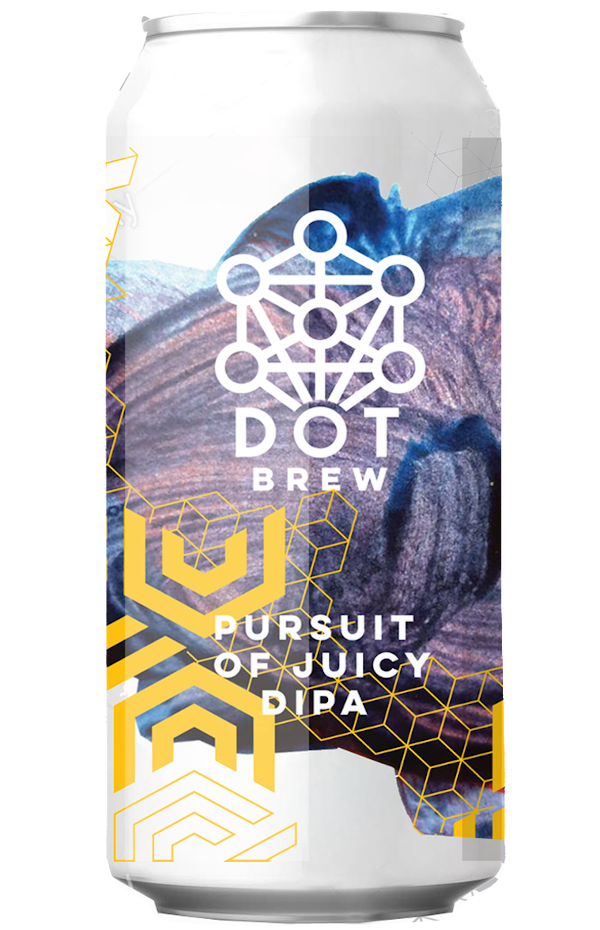 DOT Brew Pursuit of Juicy DIPA 440ml can