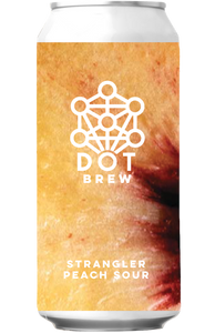 DOT Brew Strangler Peach Sour 440ml can
