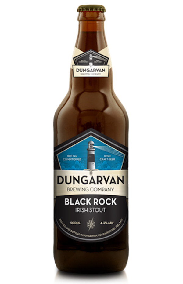 Dungarvan Black Rock Irish Stout 500ml Bottle