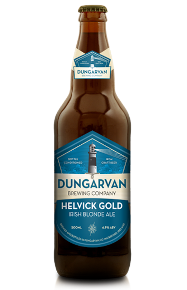 Dungarvan Helvick Gold Irish Blonde Ale Bottle
