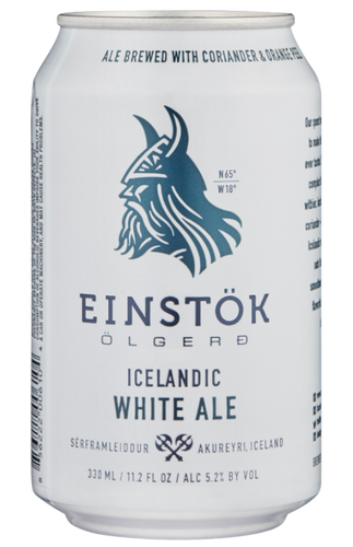 Einstock Icelandic White Ale 330ml can