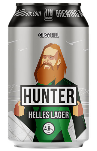 Gipsy Hill Hunter Helles Lager 330ml can