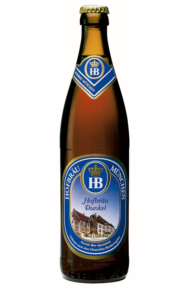 Hofbrau Dunkel Dark Lager 500ml Bottle