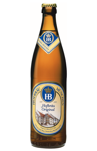 Hofbrau Original Helles Lager 500ml Bottle