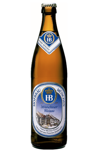 Hofbrau Weisse Weissbier Wheat Beer 500ml Bottle